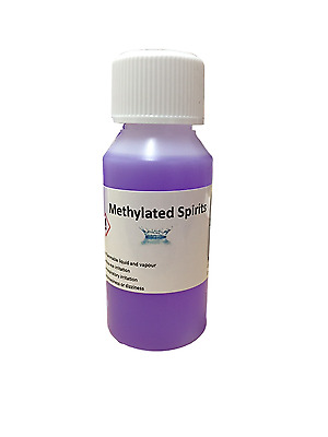 100 ml Methylated Spirits, Top Quality 94% Meths, Fast and FREE UK Shipping