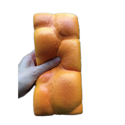 Exclusive Squishy Colossal Toast Bread Loaf Props Slow Rising Bread Scented Toys