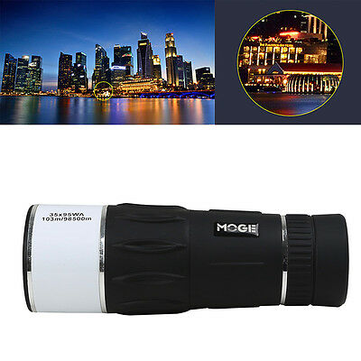 35x Optical Zoom HD High Resolution Night Vision Monocular Single-tube Telescope