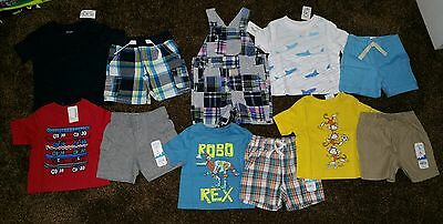 NWT Boys Size 6-12 Months Lot of Summer CLOTHES Outfits Gymboree puppy