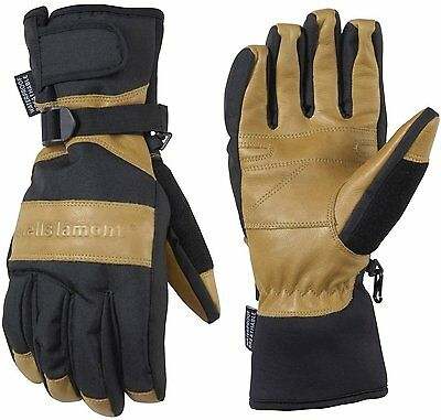 NEW Wells Lamont Hydra Hyde Thermal Insulated Waterproof Gloves Leather, Large