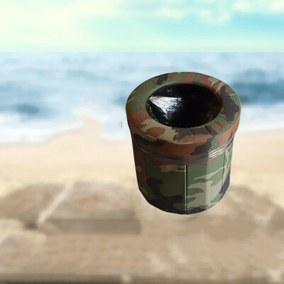 Newest Premium Quality Camouflage Portable Travel Camping Car Toilet Small UC913