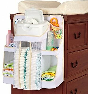Diaper Change Organizer Hanging Baby Infant Holder Storage Portable Nursery Bag