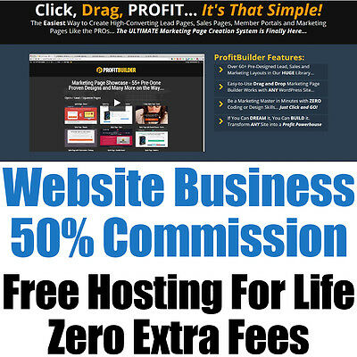 Website Business - 50% Commission - Fully Built - Home Online Adult - For Sale