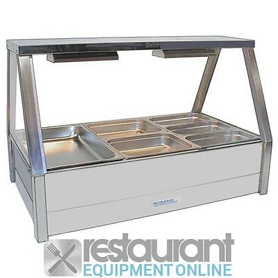 Roband Hot Food Display Bar with Roller Doors Electric Cooking Equipment | Bain
