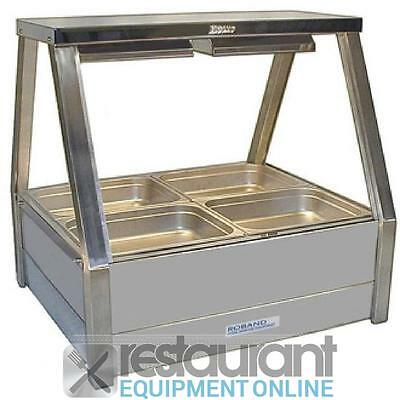 Roband Hot Food Display Bar E22RD Electric Cooking Equipment | Bain Maries | Cou