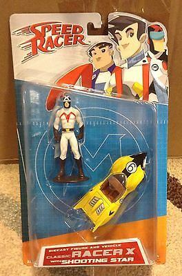 Speed Racer Classic Racer X with Shooting Star Diecast New in Package Art Asylum