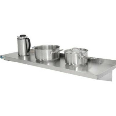 Vogue Stainless Steel Kitchen Shelf 1200mm Stainless Steel Shelving Vogue Shelvi