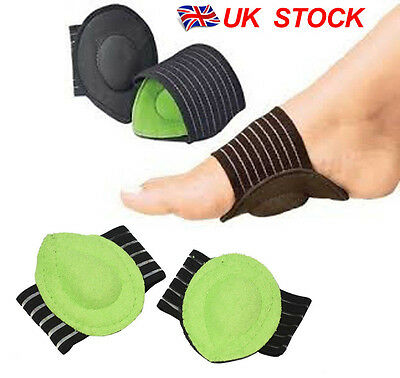 UK Stock Flat Foot Feet Arch Support Strutz Plantar Fasciitis Insole Heel Insert