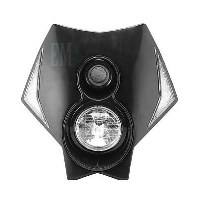 Black Motorcycle Headlight Fairing For BMW G450X G650 XChallenge Xcountry R80GS