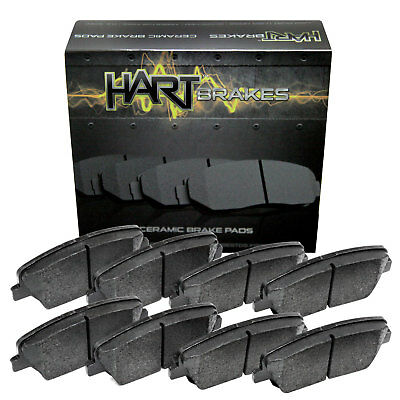 For 12-2011 Ford, Lincoln Fusion, MKZ Front Rear Ceramic Brake Pads