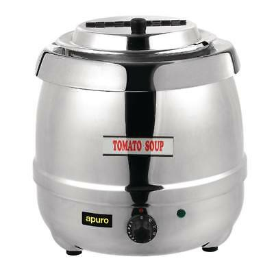 Apuro Stainless Steel Soup Kettle Electric Cooking Equipment | Soup Kettles - L7