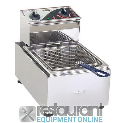 Roband Single Basket Counter Top Deep Fryer F15 Benchtop Appliances Benchtop App