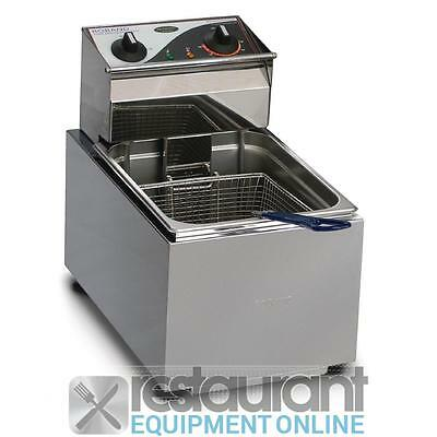 Roband Single Counter Top Deep Fryer F18 Electric Cooking Equipment | Electric D