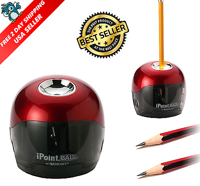 Pencil Sharpener Electric Automatic Touch Battery Personal Home Office School US