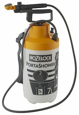 Portable Shower Dog Washer Multi Purpose Outdoor Water Pump Camp Car Travel 7L
