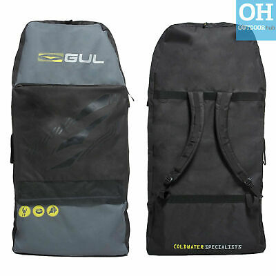 "Gul Arica 42"" Double Bodyboard Bag Backpack Straps Handle Body Board Pockets"