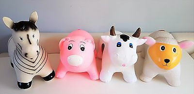 Animals Hopper Sit & Ride Inflatable play soft fun NEW boxed