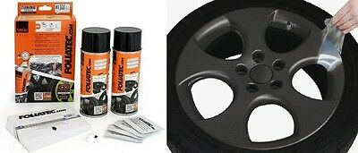 KIT PEINTURE JANTE PLASTIFIANT ELASTIQUE FOLIATEC ANTHRACITE METALLIC Ford