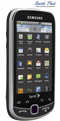 Samsung Intercept SPH-M910 Android Smartphone, QWERTY Keyboard - Sprint