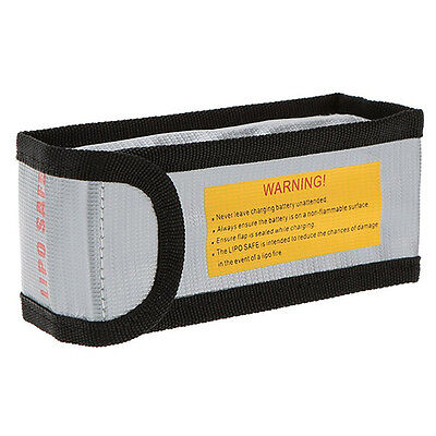 LIPO BAG Sac protection  incendie 150 mm 64 mm  X  5 mm batterie LIPO France