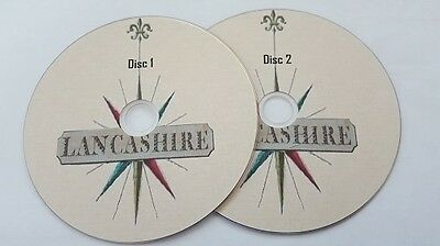 Lancashire History 200 + very old books on 2 discs in PDF Format for PC