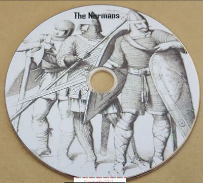 History ebooks, of The Normans genealogy, 50 + pdf files ebooks history on disc