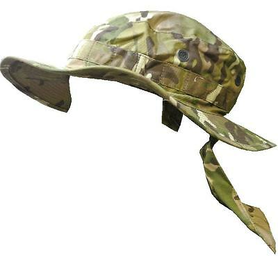 MTP Boonie Hat Genuine Issue Multicam Tropical Combat Bush Hat With flap ~ New