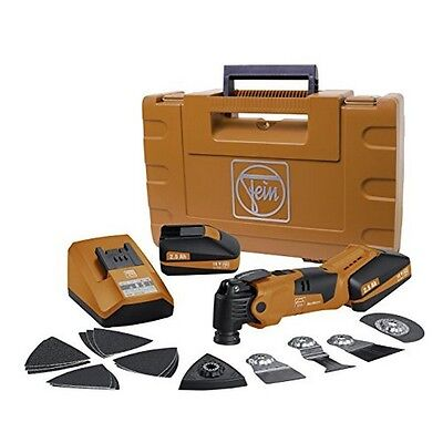 Fein Multimaster 18 v cordless oscillating multi-tool with hard case and package