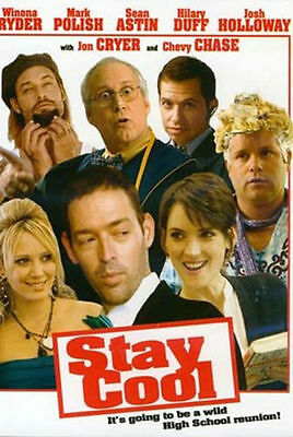 NEW DVD // Stay Cool - Mark Polish, Winona Ryder, Chevy Chase, & Sean Astin,