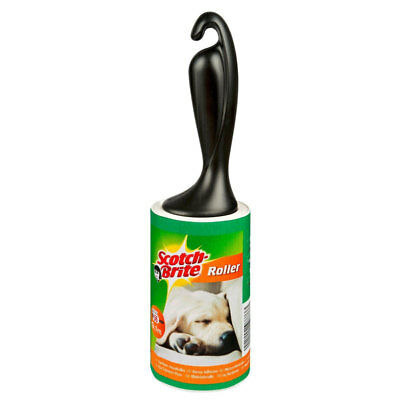 Scotch Brite Large 3M Lint Pet Hair Remover 56 sheets
