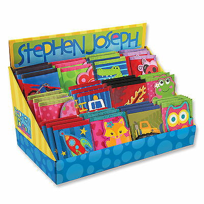 Stephen Joseph E7 Baby Toddler Boy Kid's Wallet – Choose Design SJ-5201