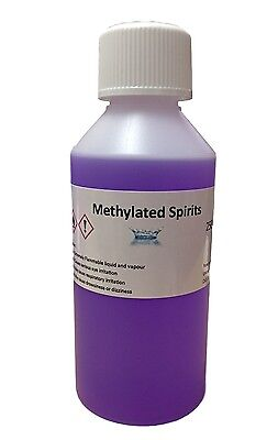 250 ml Methylated Spirits, Top Quality 94% Meths, Fast and FREE UK Shipping