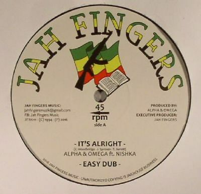 "ALPHA & OMEGA feat NISHKA - It's Alright - Vinyl (12"")"