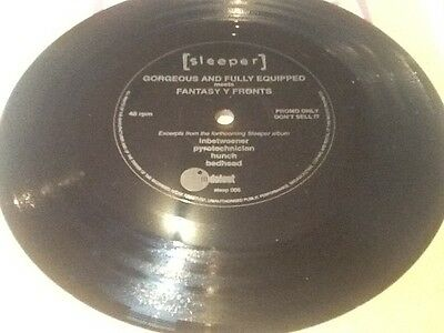 Sleeper - Gorgeous and fully equipped Flexi disc vinyl sampler. Promo Rare!
