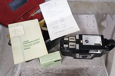 TRIAD Fotron III Camera w/ Case - sales Book - Original Bill - Film