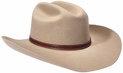 Stetson Marshall - 4x Wool Cowboy Hat SIZE 7 1/2 RANCH TAN SWMARS-6240D474