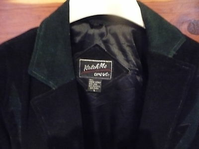 Vintage Womens Leather Bolero Jacket