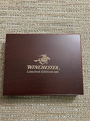 Winchester Limited Edition 2008  Presentation box. Cherry finish.