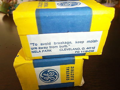 GE FG 1119-CXI Bulbs - 15 Watt Frosted - Lot of 2 - Made in Ohio