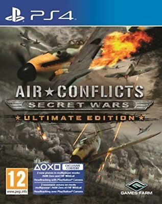 Air Conflicts: Secret Wars Ultimate Edition PS4 | PlayStation 4 - Brand New