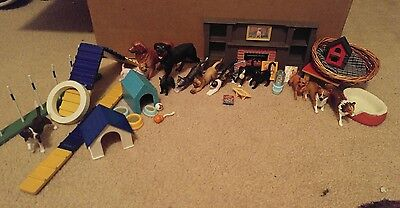 Huge Lot of Breyer Dogs, Cats, Agility, Accessories