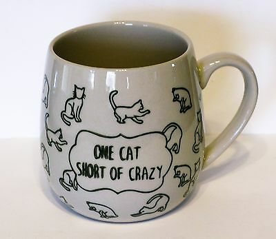 Cat Mug World Market Crazy Cat Lady Ceramic Drinking Cup Cats Felines NEW