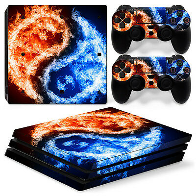 Sony Ps4 Playstation 4 Pro Skin Aufkleber Schutzfolie Set Black Blood Motiv Video Games & Consoles