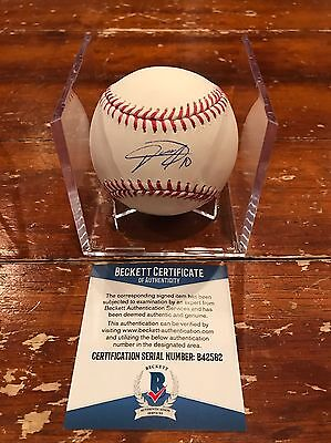 Yulieski Gurriel Autographed Houston Astros Official MLB Baseball Beckett ROMLB