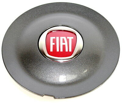 Fiat Bravo Sport Alloy Wheel Centre Cap Anthracite Grey New Genuine 735452756