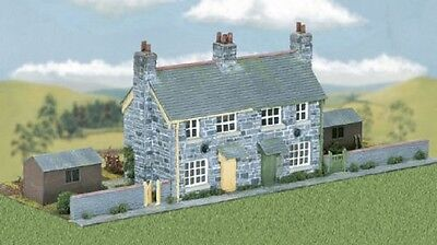 WILLS CK21 OO Scale Stone built pair of Semi Detached Cottages