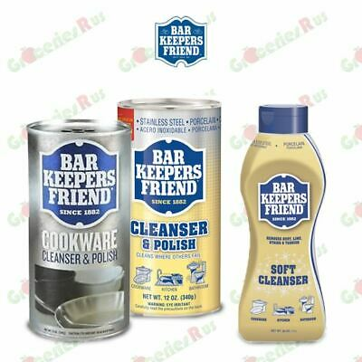 Bar Keepers Friend Cookware Stainless Steel / Polish Cleanser Polish Powder 340g