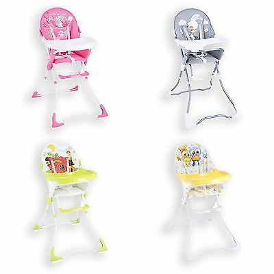 New Baby High Seat Chair Booster With Tray Infant Toddler Nursery Boy Girl