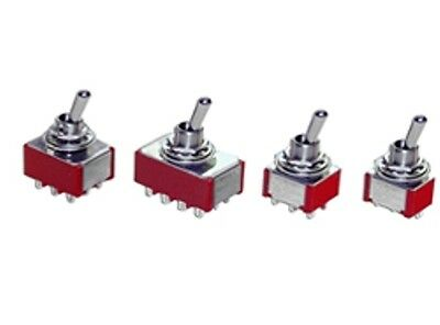 5 x Momentary (On)Off(On) Mini Small Toggle Switch Model Railway SPDT 12V